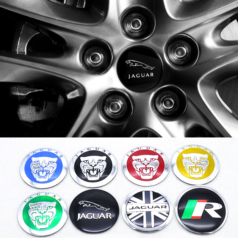 56mm Hub Decoration For Jaguar E Pace Etype XE XK XJ XF F Pace F-type X-type S-type XJS XJL XJ6 XKR Alloy Wheel Center Sticker