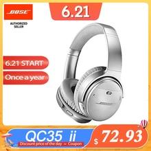 BOSE QC35 II QuietComfort 35 II ANC Wireless Bluetooth Headphones Bass Headset Noise Cancelling Sport Earphone with Mic Voice