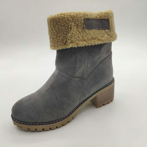 2019 Winter Suede Leather Warm