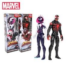 Marvel-Toys Action-Figure Titan Spiderman Superhero Venom Miles Morales Hero-Series 30CM