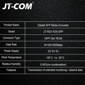 Image 4 - 1Gb Sfp Fiber Om RJ45 Glasvezel Media Converter 1000Mbps Sfp Fiber Switch Met Sfp Module Compatibel Cisco/Mikrotik/Huawei