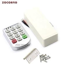 DC 6V電子パスワード食器棚ドアロック電子コンビネーションロック引き出しロック/ファイルキャビネットロック