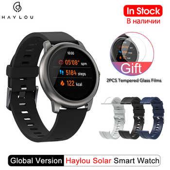 Haylou Solar Smart Uhr Globale Version IP68 Wasserdichte Smartwatch Frauen Männer Uhren Für Android iOS Haylou LS05 Von Xiaomi