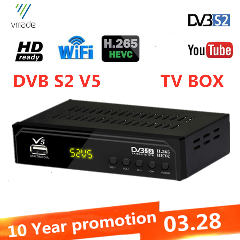 DVB-T2 TV Tuner Terrestrial Receiver Full HD 1080P Decoder TV Tuner support have network H 265 Dolby YOUTUBE  set top boxes