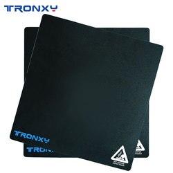 Tronxy שחור מיסוך קלטת 3d מדפסת heatbed מדבקת חממה קלטת 220*220mm 255*255mm 330 * 330mm 400*400mm מדבקת הדפסת מיטה