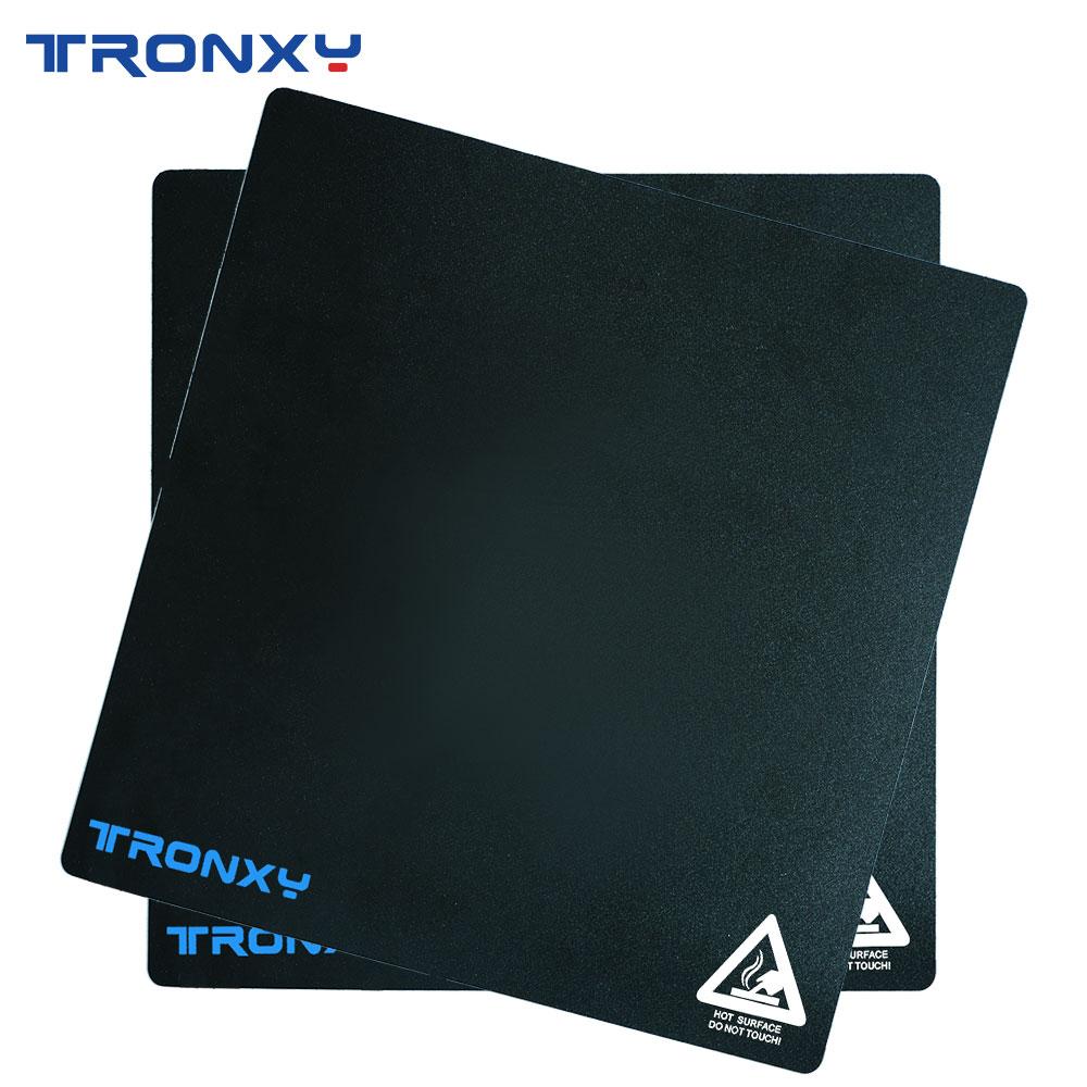 Tronxy Black Masking Tape 3d Printer heatbed sticker Hotbed Tape 220*220mm 255*255mm 330*330mm 400*4