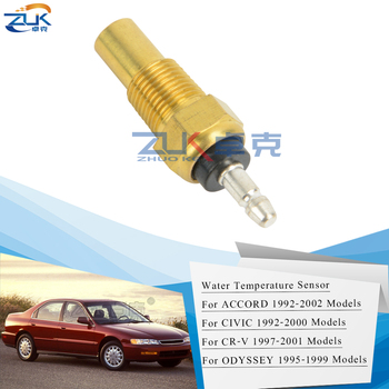 ZUK Engine Coolant Water Temperature Sensor For HONDA ACCORD CIVIC CRV Legend Odyssey For ACURA TL OEM:37750-PH2-014 image
