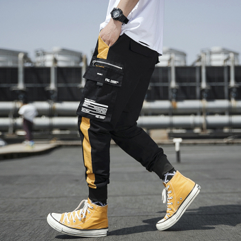 Streetwear Joggers Men Spring Autumn Fashion Sweatpants Men's pants Casual Slim Ankle-length Men Trousers Women's Pants 1
