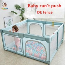 Happymaty Baby Playpen Children Indoor Game Fence Newborn Crawling Protection Fence Ball Pool Foldable Kids Safety Barrier F05