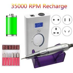 LCD 35000 RPM Portable Electri