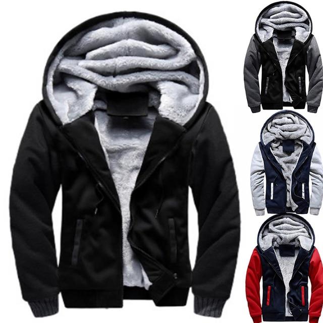2021 Newset Men Coat Jacket Outwear Winter Slim Hoodie Warm Hooded Tracksuits Stylish Fashion Design Bursting Drop Ship 5XL 1