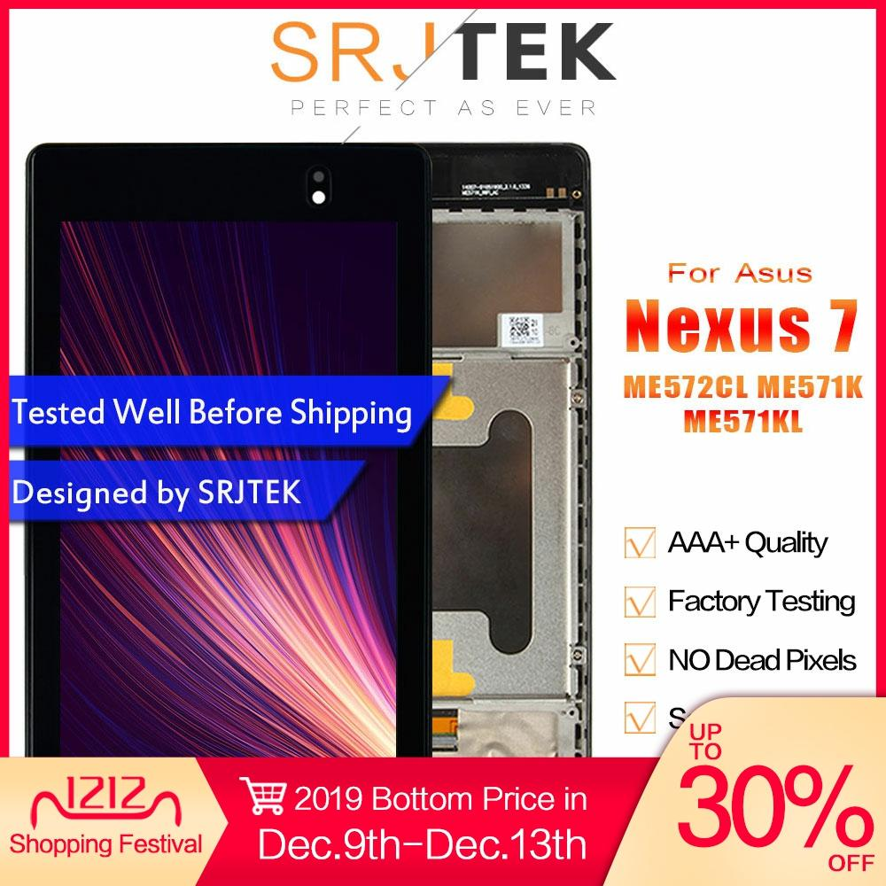 Für <font><b>ASUS</b></font> <font><b>Nexus</b></font> <font><b>7</b></font> <font><b>LCD</b></font> Display ME571K Screen Für <font><b>Asus</b></font> Google <font><b>Nexus</b></font> <font><b>7</b></font> 2nd <font><b>2013</b></font> Display ME571KL Touchscreen ME572CL ME571 K008 K009 image