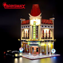 BriksMax Led Light Kit For Creator Expert 10232 Palace Cinema Lighting Set Compatible With 15006 (NOT Include The Model)