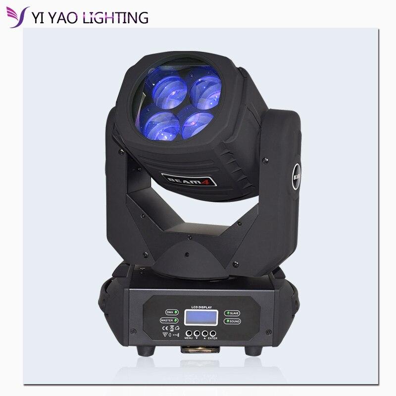 4x25W Moving Head Beam Bar Effect Stage Lighting Cree Led Lamp Super Bright DJ
