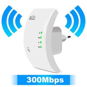 Image 1 - ワイヤレス無線 Lan リピータ無線 Lan レンジエクステンダー 300 150mbps のネットワーク Wi fi のアンプ信号ブースター Repetidor Wifi アクセスポイント