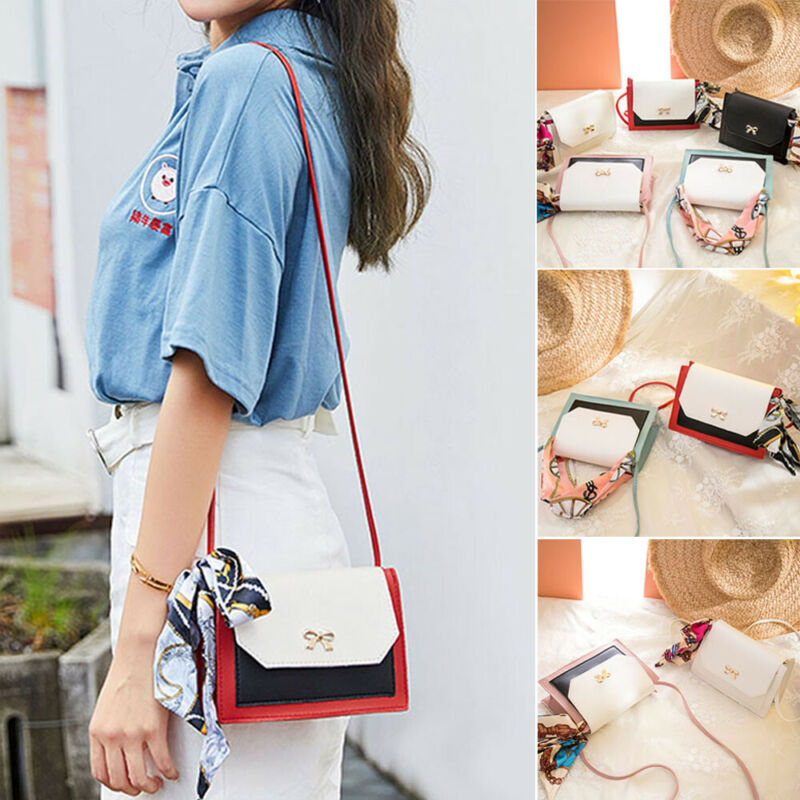 2019 A New Lady's Lychee Lock Saddle Bag With Silk Scarf And Silk Strap Messenger Bag Women Shoulder Bags Tote Satchel Handbag