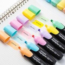 Monami 604 Pastell Farbe Highlighter Stift Mild Farben Marker Liner Hervorhebung Zeichnung Malerei Büro Schule Liefert A6088