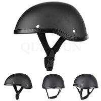 Motorcycle helmet retro half face helmet retro style chopper cruiser For Yamaha FZ1 FAZER FZ6 FZ6R FZ8 XJ6 MT 07 MT 09 FZ9 FZ 09