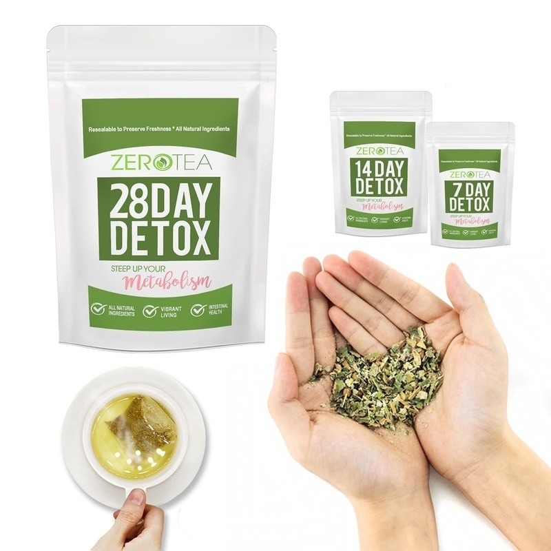 <font><b>28</b></font> <font><b>Days</b></font> Natural Weight Loss <font><b>Detox</b></font> Products Teatox for Men and Women to Reduce Bloating and Constipation Natural Body Cleanse image