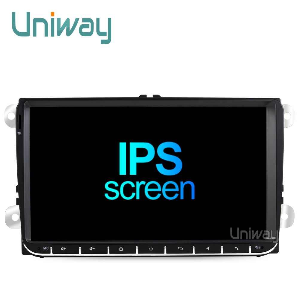 Uniway PX30 DSP android 9,0 автомобильный dvd для vw passat b6 b7 golf 5 6 Tiguan Polo Octavia Rapid fabia мультимедийный навигационный плеер