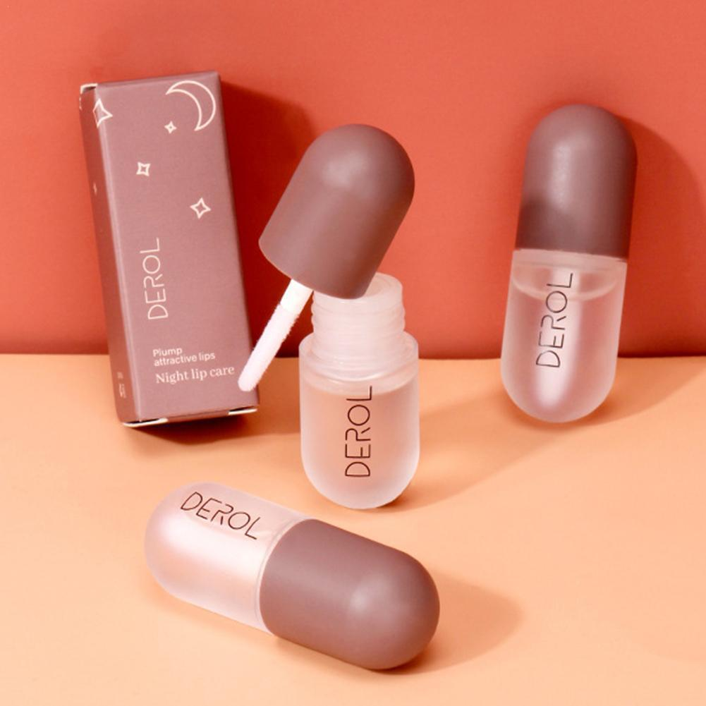 2020 New Moisturizing Plumping Lip Gloss Lip Plumper Extreme Essence Mineral Lip Volume Enhancer Serum Nutritious Oil Lips D3W9