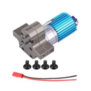 Image 1 - Premium New 370 Brushed Motor with Alloy Heat Sink Gear Box Set for WPL Henglong C14 C24 B14 B24 B16 B36 4x4 6x6 Upgraded Parts