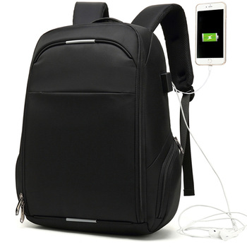 2020 new men's backpack leisure travel waterproof backpack multi-layer USB charging business backpack 15.6inch Computer Backpack фото