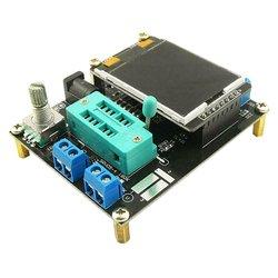 GM328A transistör test cihazı diyot kapasite ESR gerilim frekans metre PWM kare dalga sinyal jeneratörü