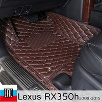 car floor Mats For Lexus RX350h 2009 2015 AL10 car mats special order car accessories floor mat car decoration