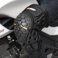 Motocyklowe ochraniacze kolan motocyklowe ochraniacze kolan straż Motocross Pad pancerz kolano Gurad wysoka intensywność EVA/PV moto akcesoria w Motocyklowe ochraniacze na kolana od Samochody i motocykle na