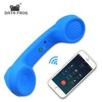 DATEN FROSCH Drahtlose Retro Telefonhörer und Wired Telefonhörer Empfänger Kopfhörer für ein handy mit komfortable anruf