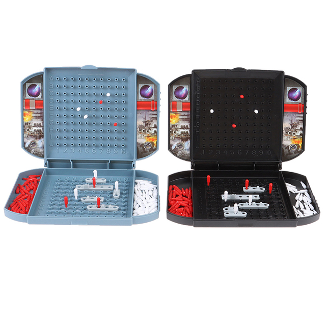 Battleship The Classic Naval Combat Strategy Board Games Board Game Classic Puzzle Game Random Color Box Packaging 5
