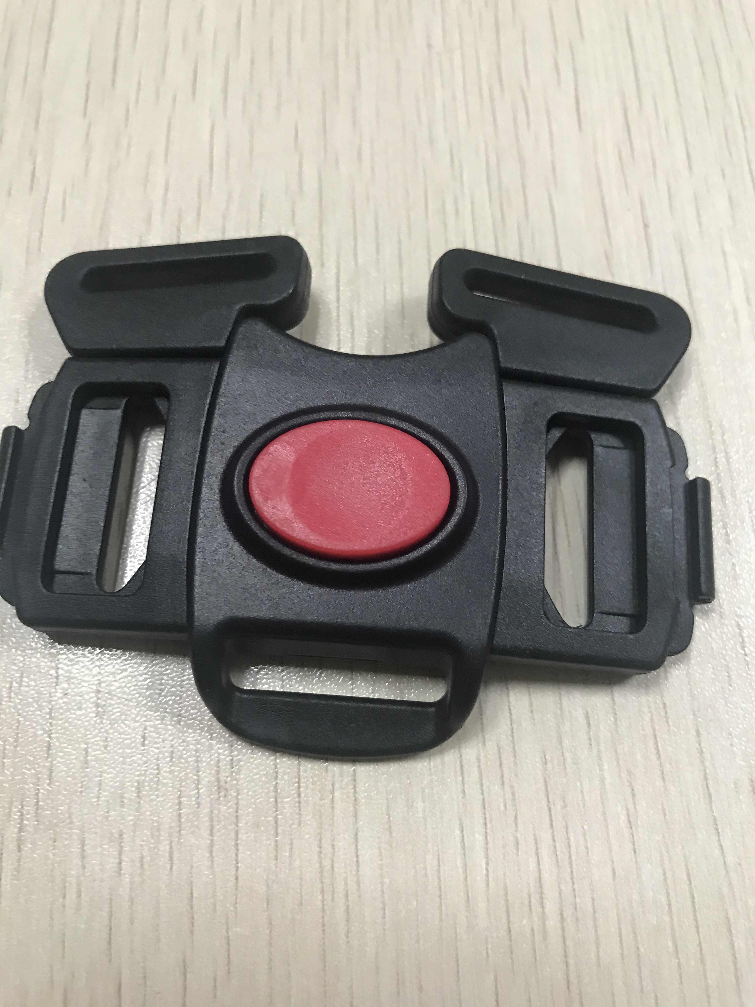 Toddlers Children Black 5 Point Harness Buckle Clip Replacement Part Seat Safety for Chicco Bravo Stroller Models for Babies Kids