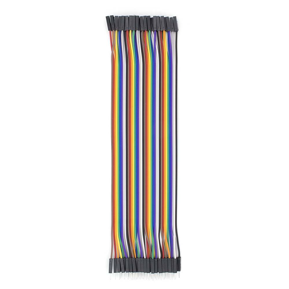 2,54 мм Dupont Line 20 см 10 см 40Pin Male to Male+ Female to Female Jumper Wire Dupont Cable DIY KIT - Цвет: 20cm F to M