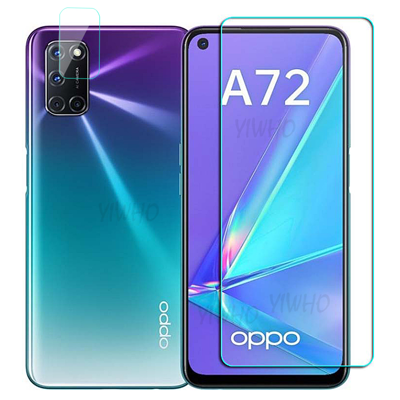 HD Protective Glass For OPPO A72 Tempered Glass On For OPPO A52 A92 A53 A93 A 52 53 72 92 2020 Scree