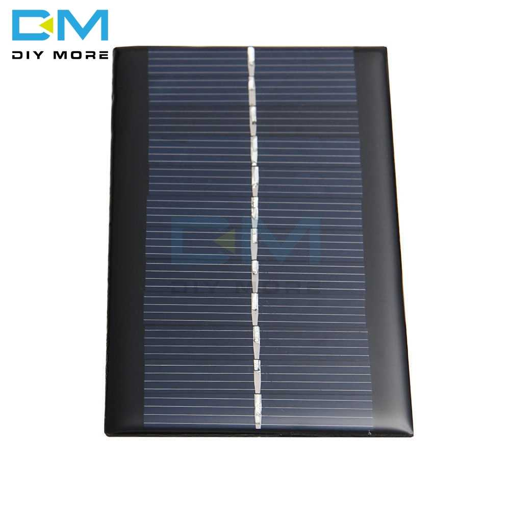 6V 1 ワットソーラーパネル銀行ソーラー電源ボードモジュールポータブル Diy 電力高変換ライトバッテリー携帯電話のおもちゃ充電器