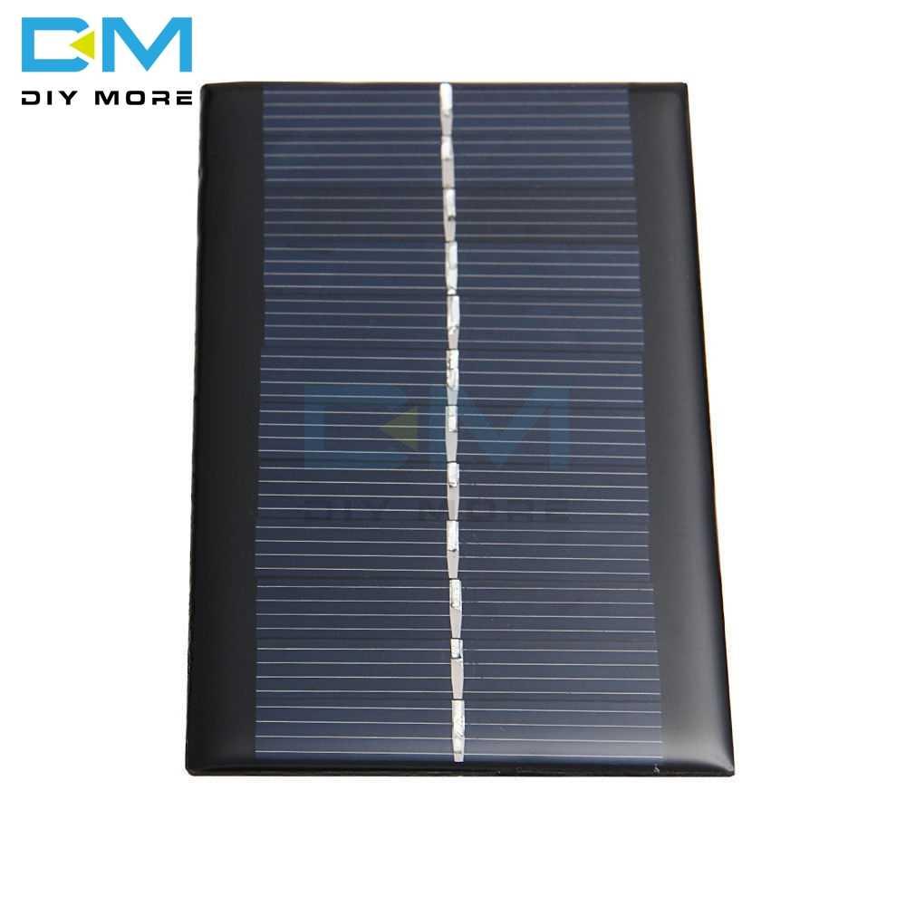 6v 1 ワットソーラーパネル銀行ソーラー電源ボードモジュールポータブルdiy電力高変換ライトバッテリー携帯電話のおもちゃ充電器