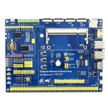 Waveshare for Raspberry Pi Compute Module 3+/32GB Development Kit Type ACM3+ IO Board DS18B20 IR Remote Controller (US Plug )