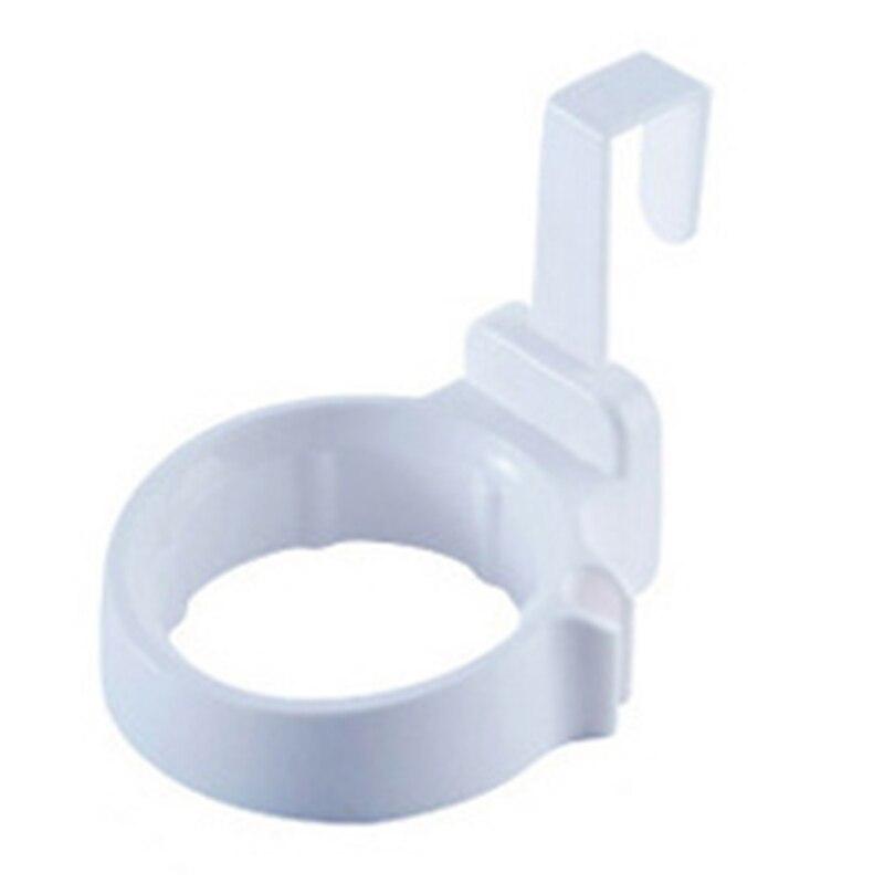 Фен стеллаж для хранения шкафчик с дверцей, держатель для волос, настенный держатель для ванной комнаты, полка для хранения X - 5
