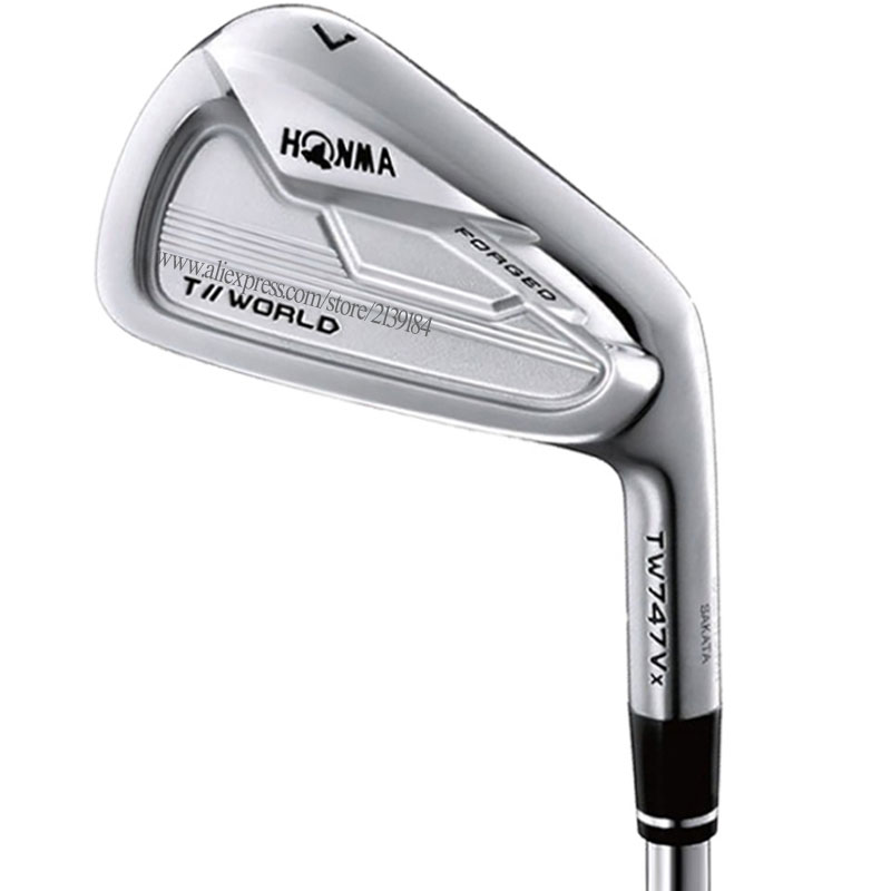 New Irons Golf Clubs HONMA TW747 Vx Golf Irons 4-910 11 Irons Steel Shaft Or Graphite Shaft And Golf Grips Cooyute Free Shipping