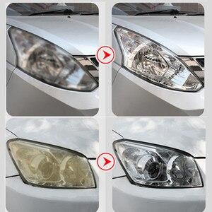 Image 5 - طقم إصلاح خدوش لمصابيح السيارة الأمامية الزجاجية ، طلاء كاره للماء ، 800 جرام
