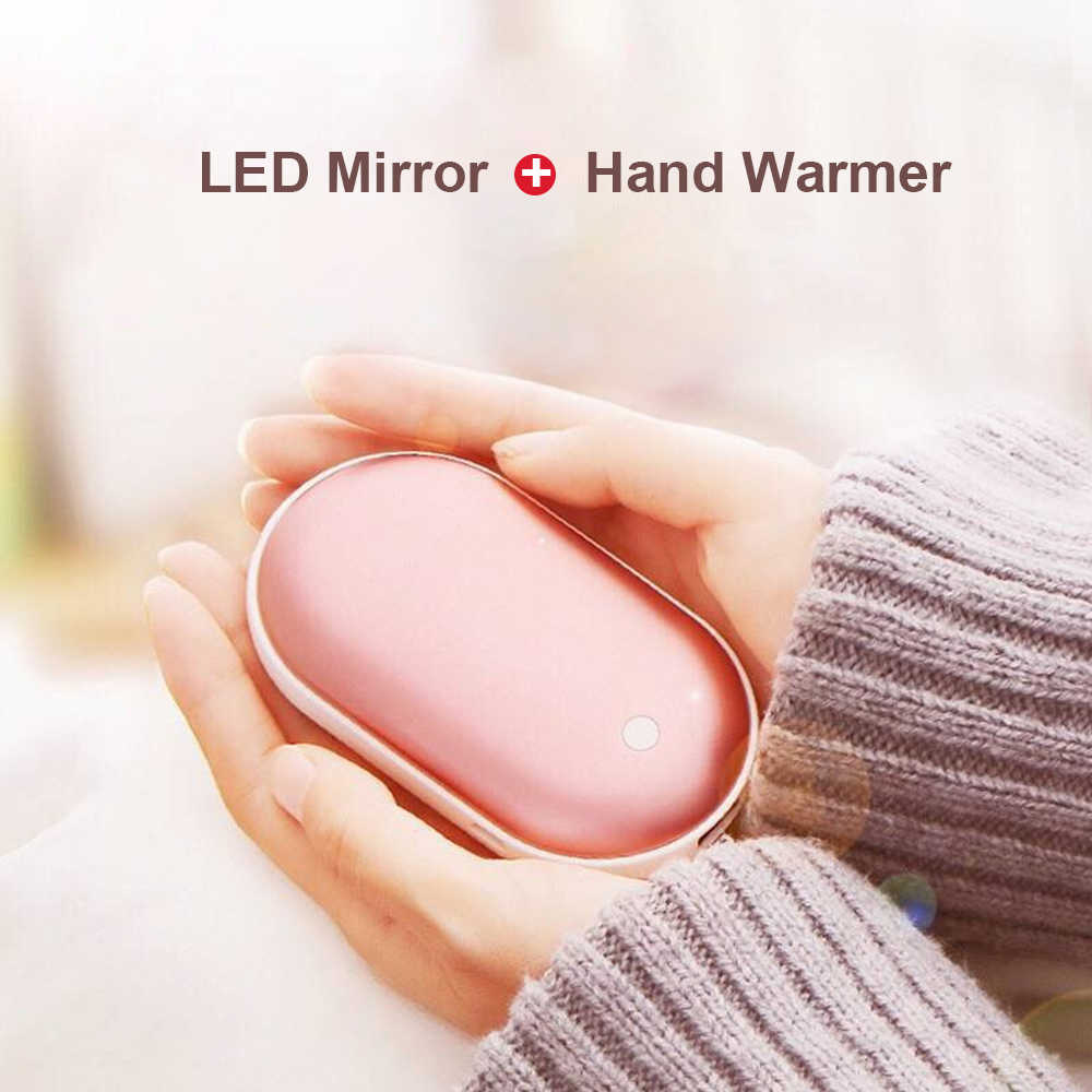 3000/3600/4000/5200 M Ah 5V USB Isi Ulang Baterai Portabel LED Electric Hand Warmer Heater Perjalanan rumah Mini Pocket Hangat