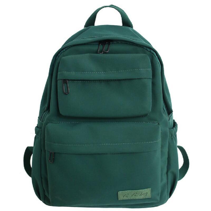 Fashion Women Canvas Backpack Travel Female School Bag For Teenagers Girl Shoulder Bag Bagpack Travel Rucksack