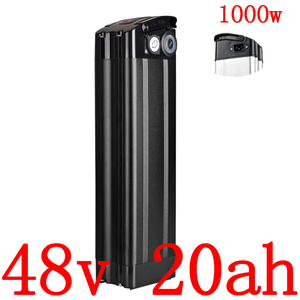 48V 1000W Lithium battery 48V 8AH 9AH 10AH 12AH 13AH 15AH 17AH 18AH 20AH Electric Bicycle Battery use samsung/panasonic/LG cell(China)