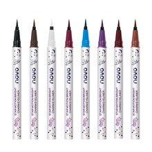 Novo colorido fosco líquido lápis eyeliner olhos maquiagem de longa duração uick seco à prova dwaterproof água olho forro caneta cosméticos ferramentas tslm2