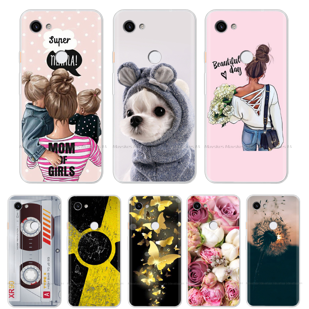 Soft Phone Cover For Google Pixel 3A / Pixel 3A XL Pattern Soft Back Phone Case For For Google Pixel 3A XL Cases Silicone Cover