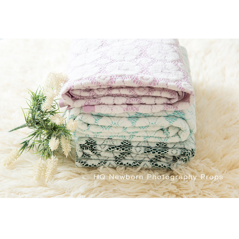 Baby Photography Blankets Newborn Shooting Baby Stretch Blanket New Born Baby  Garland Background