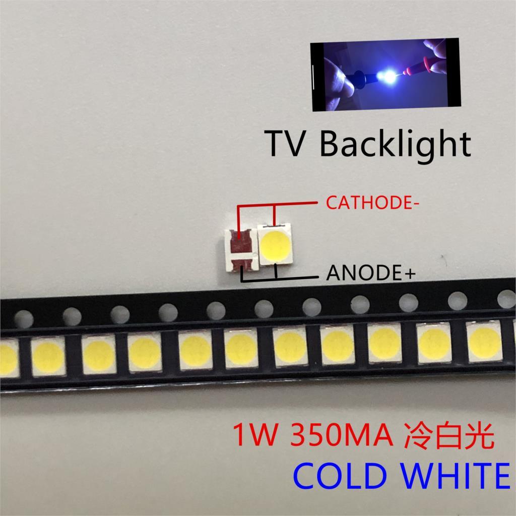 1000 шт. универсальная светодиодная подсветка 1,5 Вт 3 в 1210 3528 2835 131LM CUW JHSP холодный белый ЖК Подсветка для телевизора