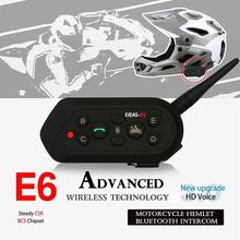 Motorcycle Walkie-talkie Headset Outdoor Full-duplex Real-time Call Wireless Helmet Intercom E6