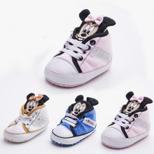 Spring Autumn and Winter New 0-1 Year Old Baby Shoes Soft Sole Cartoon Casual Baby Shoes